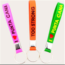 Personalized Colorful Silicon Rubber Key Chains